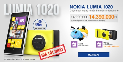 Lumia 1020 - cach mang nhiep anh tren smartphone hinh anh