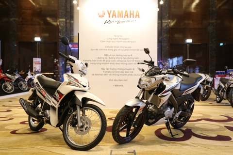 Yamaha Viet Nam ra mat xe con tay FZ150i va Sirius FI moi hinh anh