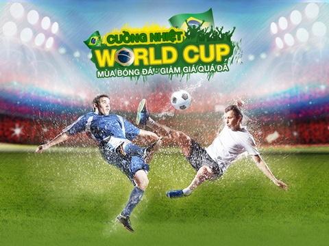 Khuyen mai lon don World Cup tai Lazada.vn hinh anh