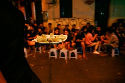 Su khac la cua pho Tay Ha Noi ve dem hinh anh 13