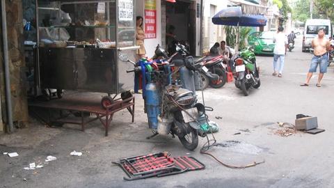 No tai hem Phuong 'khoi lua', ca day pho nao loan hinh anh
