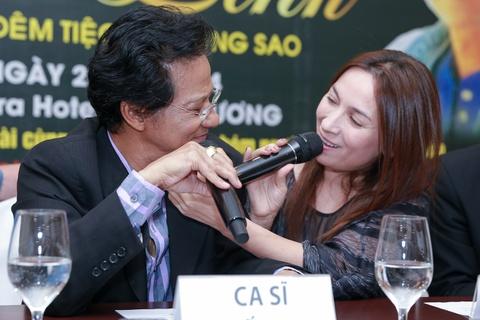 Che Linh sang tac rieng tang Phuong My Chi hinh anh