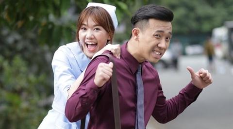 Hari Won vang mat trong live show Tran Thanh hinh anh