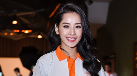 Pham Huong, Chi Pu tham gia su kien tu thien hinh anh