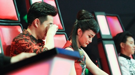 live show 1 the voice kids hinh anh