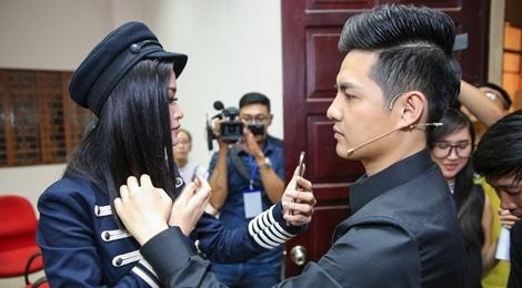 Dong Nhi tinh tu cung ban trai khi lam giam khao hinh anh