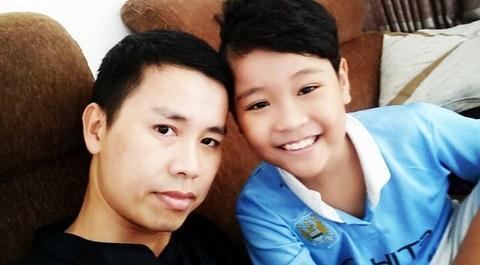 Bo quan quan Nhat Minh: 'Con toi co tai nang troi phu' hinh anh