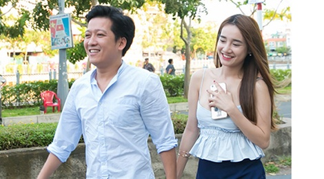 Truong Giang: 'Nha Phuong dung voi toi dep hon Kang Tae Oh' hinh anh