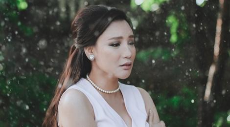 Ho Quynh Huong khong muon dien cung dien vien nam trong MV hinh anh