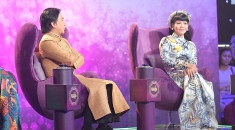 Kim Tu Long mang Ngoc Huyen 'ba phai' tren ghe nong hinh anh