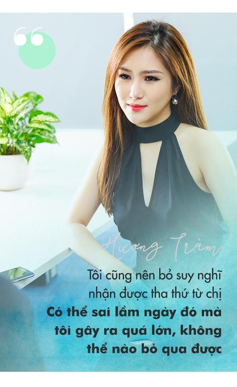 Huong Tram: 'Ba lan xin loi chi Thu Minh nhung khong duoc tha thu' hinh anh 7