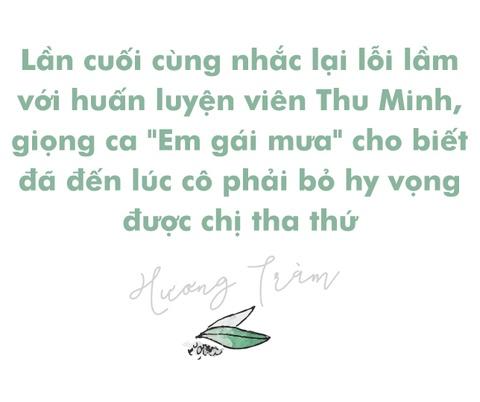 Huong Tram: 'Ba lan xin loi chi Thu Minh nhung khong duoc tha thu' hinh anh 2
