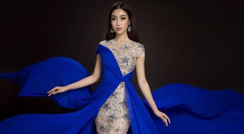 Do My Linh chon dam xe ta cao khoe chan dai tai Miss World hinh anh