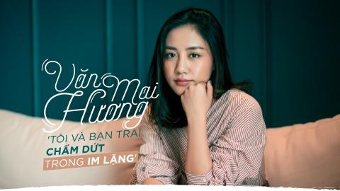 Van Mai Huong trai long ve nghi van chia tay ban trai vi nguoi thu 3 hinh anh 2