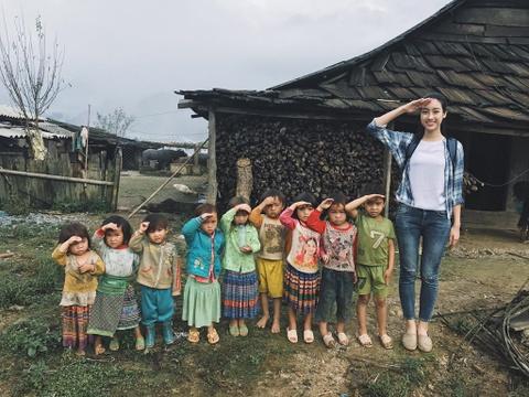 Do My Linh lot top 20 'Nguoi dep nhan ai' cua Miss World 2017 hinh anh