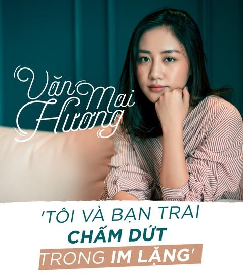 Van Mai Huong trai long ve nghi van chia tay ban trai vi nguoi thu 3 hinh anh 1