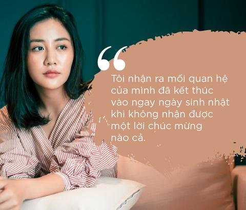 Van Mai Huong trai long ve nghi van chia tay ban trai vi nguoi thu 3 hinh anh 4