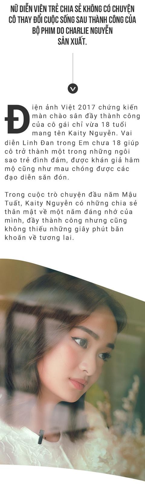 Kaity Nguyen: Hay goi em la dien vien, dung goi la hot girl hat nhep hinh anh 2