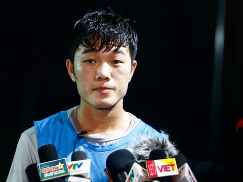Xuan Truong: Toi dang lam lai tu dau o U23 Viet Nam hinh anh