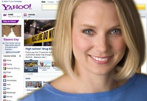 CEO Yahoo cong khai xin loi nguoi dung ve su co 'sap mang' hinh anh