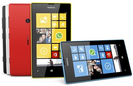 Anh em nha Lumia 520 chiem 30% thi phan Windows Phone hinh anh