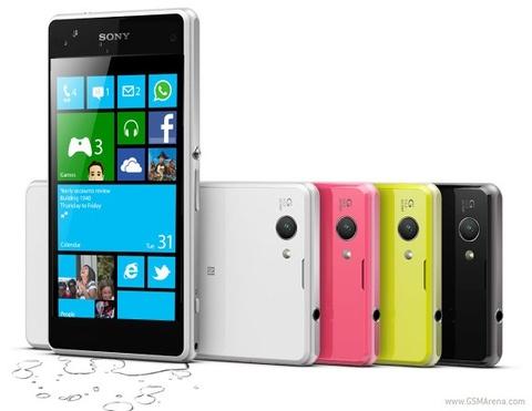 Dien thoai Windows Phone cua Sony se mang thuong hieu Vaio hinh anh