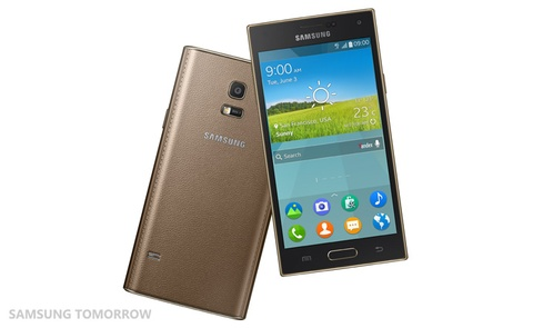 Samsung Z chay he dieu hanh Tizen OS lo dien hinh anh