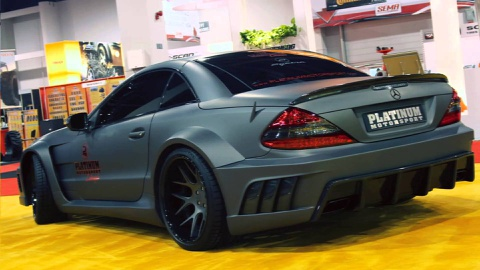 Mercedes SL AMG do kieu Black Series tai Sai Gon hinh anh