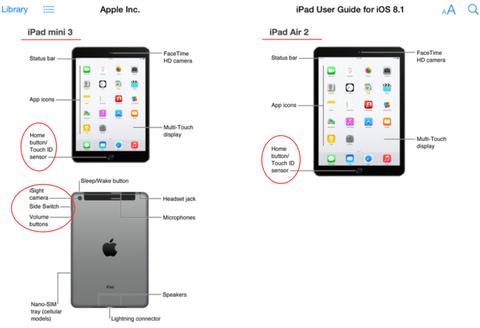 iPad Air 2 va iPad mini 3 duoc Apple xac nhan hinh anh