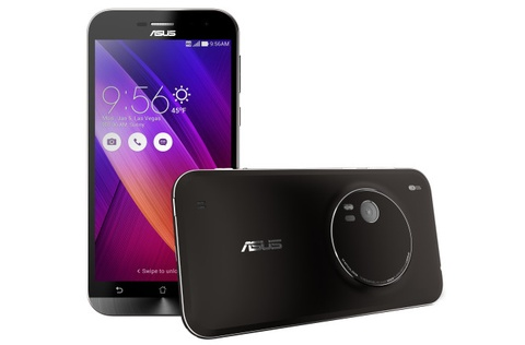 Asus Zenfone Zoom ra mat voi 13 megapixel, gia 399 USD hinh anh