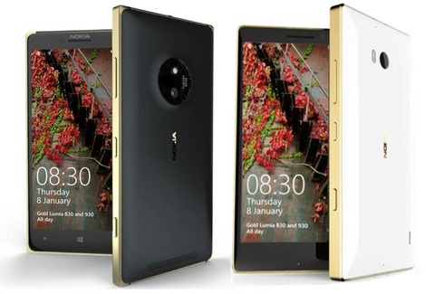 Microsoft cho ra mat phien ban dac biet cua Lumia 930 va 830 hinh anh
