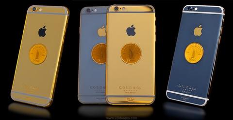 15 chiec iPhone 6 ma vang 24K mung sinh nhat khach san 7 sao hinh anh