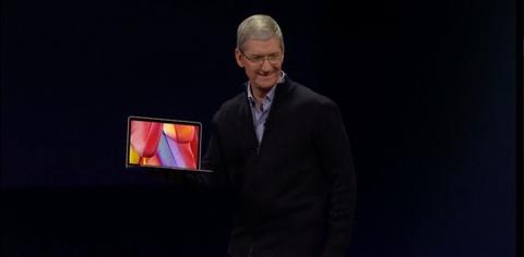 Apple gioi thieu MacBook Retina 12 inch gia 1.299 USD hinh anh