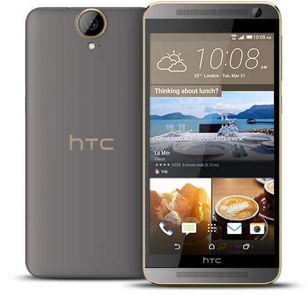 HTC One E9 Plus co man hinh Quad HD, may anh 20 megapixel hinh anh