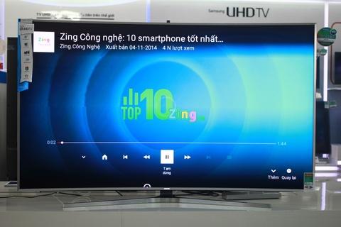 TV Samsung SUHD 78 inch dau tien ve VN gia 200 trieu hinh anh