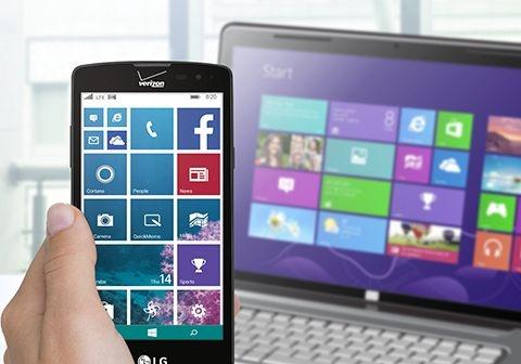 LG gioi thieu smartphone dau tien chay Windows Phone 8.1 hinh anh