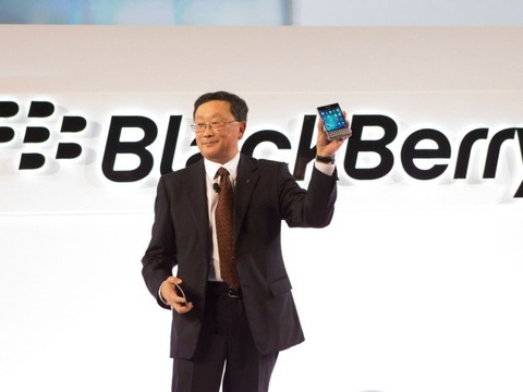 John Chen tu tin vao tuong lai BlackBerry hinh anh