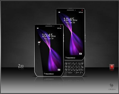 smartphone android cua blackberry hinh anh
