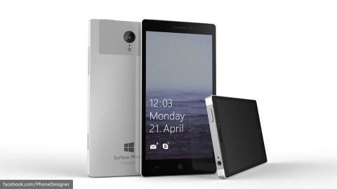 Microsoft ra dien thoai Surface nam sau hinh anh