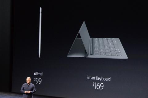 Apple Pencil va Smart Keyboard ban tre mot thang hinh anh