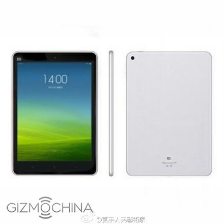 Xiaomi tung anh Mi Pad 2 voi thiet ke giong iPad mini hinh anh