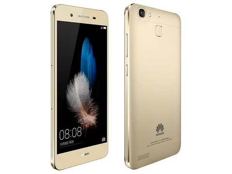 Huawei ra smartphone cam bien van tay, gia 190 USD hinh anh