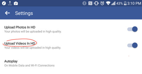 facebook android hinh anh