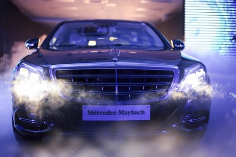 Anh chi tiet Mercedes-Maybach S400 gia 6,89 ty dong tai VN hinh anh