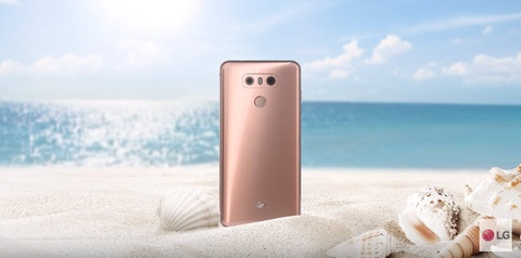 LG G6+ xuat hien lung linh trong video clip moi nhat hinh anh