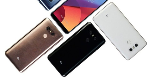 LG G6+ xuat hien lung linh trong video moi nhat hinh anh