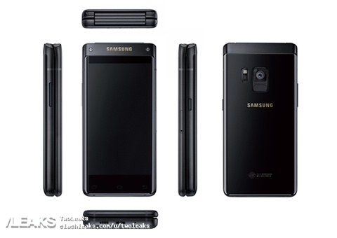 Hinh anh moi ve smartphone nap gap cua Samsung hinh anh
