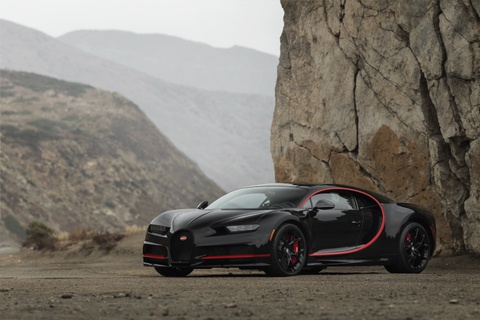 Bugatti Chiron phien ban Nguoi doi co gia 4 trieu USD hinh anh