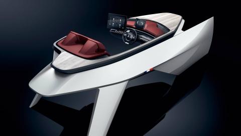 Du thuyen tuong lai Peugeot Sea Drive Concept hinh anh
