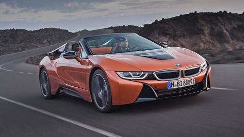 BMW i8 Roadster duoc ban ra trong thang 3, gia 164.000 USD hinh anh